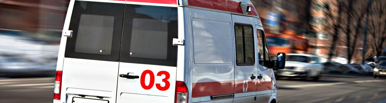 Rettungswagen im Einsatz bei Notfall