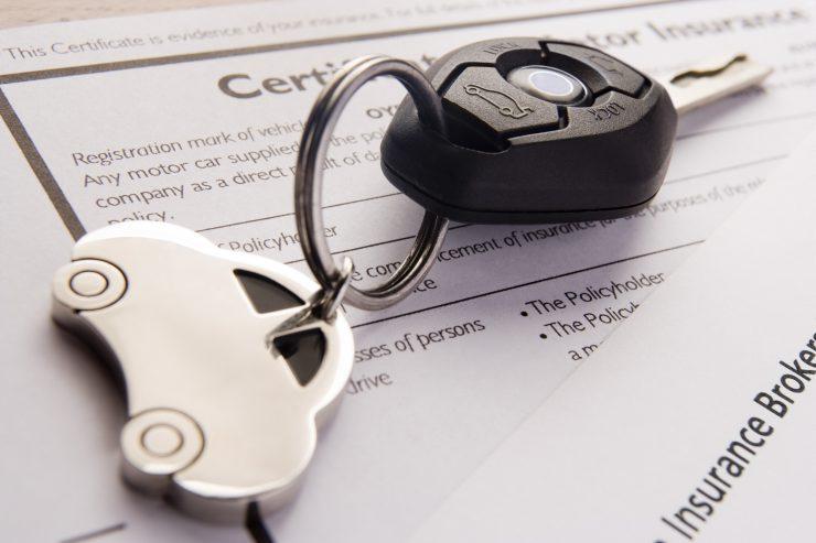 Autoschlüssel mit Versicherung