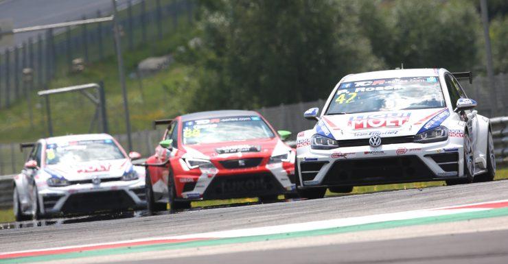 VW Golf Rennen Motorsport