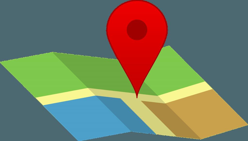 GPS Tracking, Location auf einer Karte