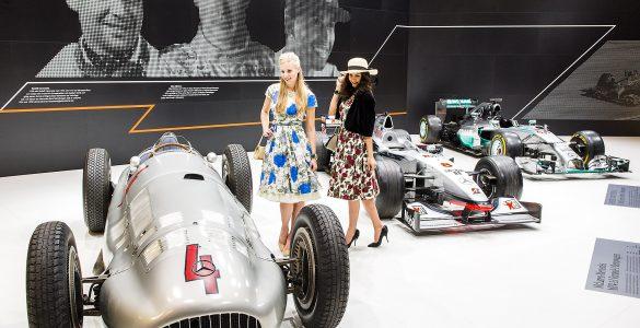 Ausstellungsbeispiel Mercedes-Benz Formel 1 auf der Techno-Classica in Essen