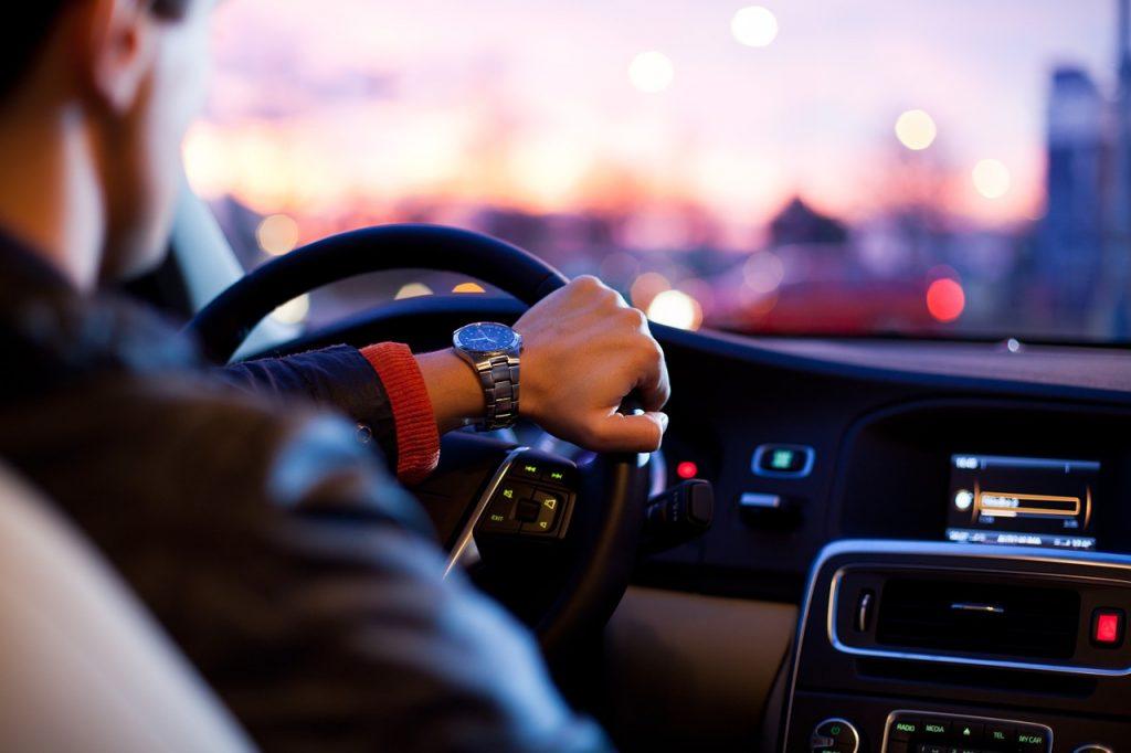 Autofahrer, Innenraum