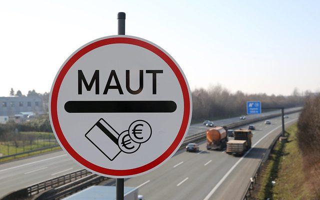 Pkw Maut Schild